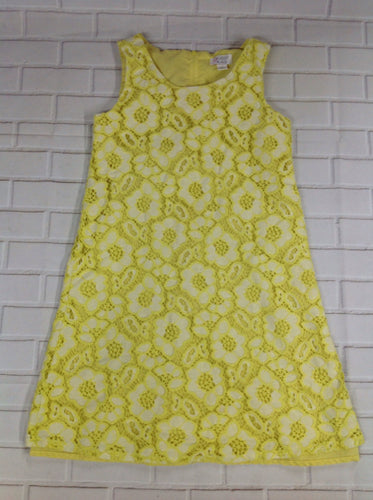 The Place Yellow Print Dress