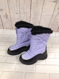 Totes Purple & Black IG Footwear Snowboots