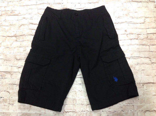 US Polo Black Shorts