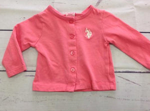 US Polo Pink Top