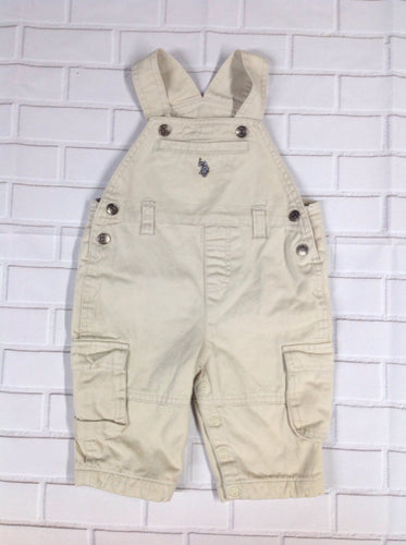 US Polo Tan Overalls
