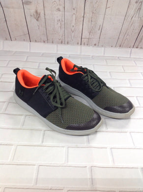 Under Armour Black & Green Sneakers