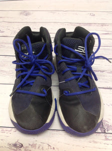 Under Armour Black & Purple Sneakers