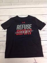 Under Armour Black Print Refuse Defeat Top