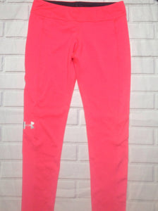 Under Armour HOT PINK & SILVER Pants