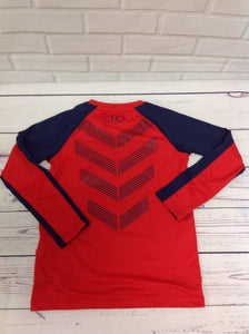 Under Armour Red Logo Top