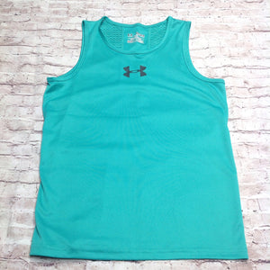 Under Armour SEAFOAM GREEN Logo Top