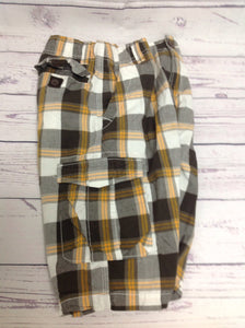 Urban Pipeline Yellow Print Plaid Shorts