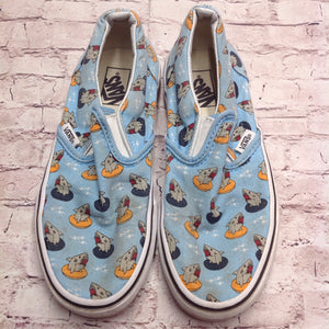 Vans Light Blue Sneakers