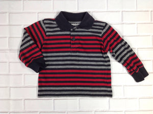 Wonder Kids Red & Black Top
