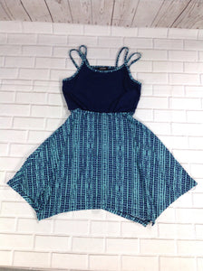 ZUNIE Blue Print Dress