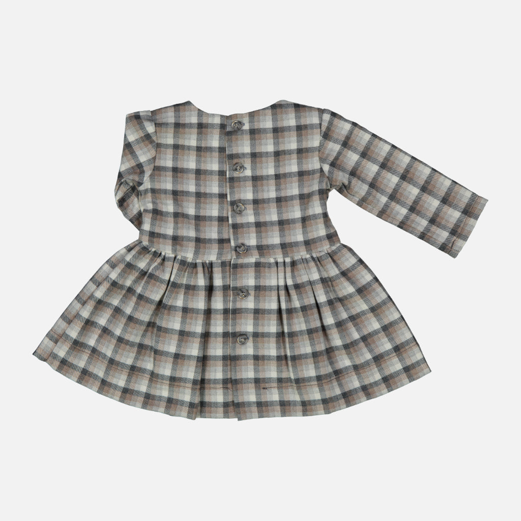 Kleid Checkered Biscuit