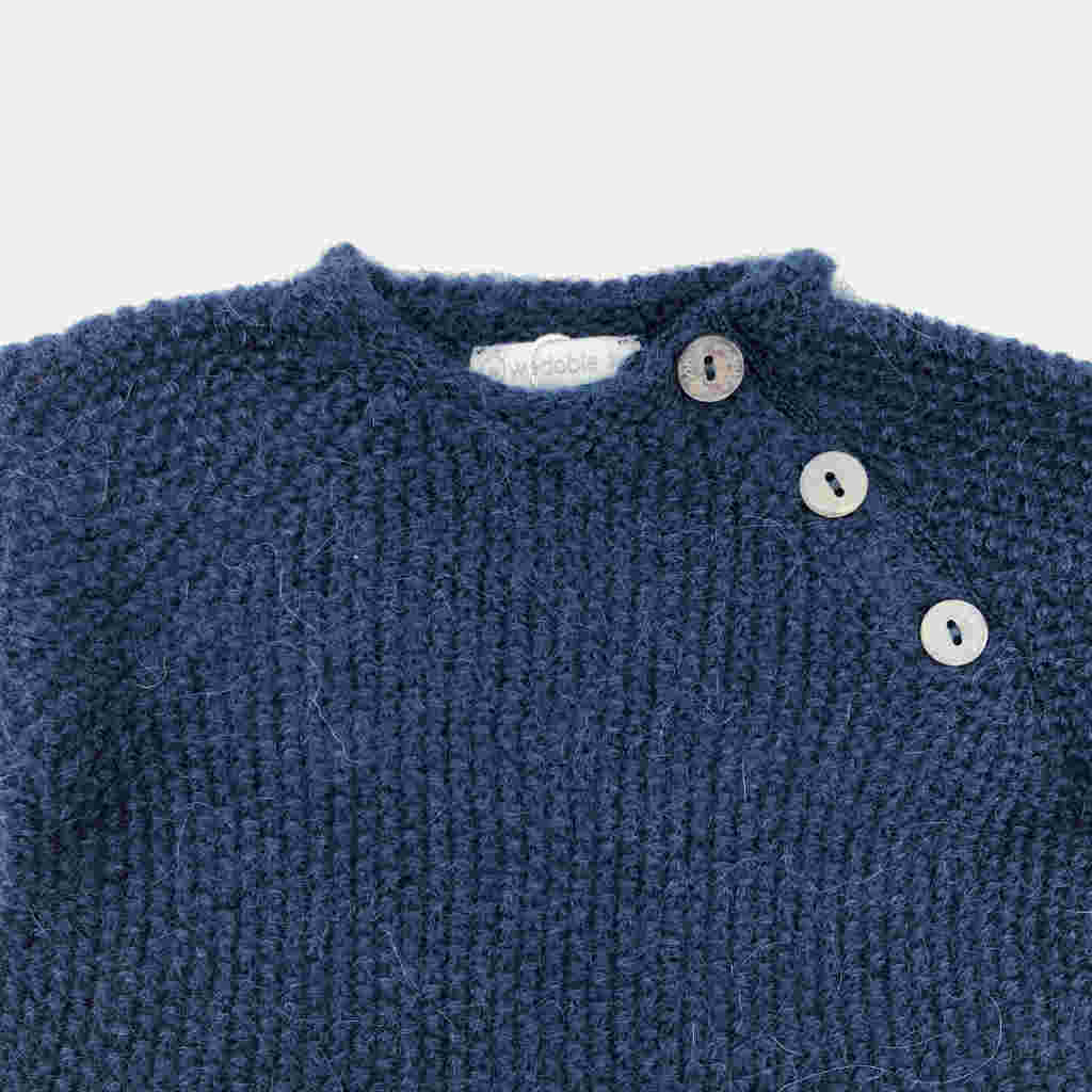 Pullover Knopf Knopf