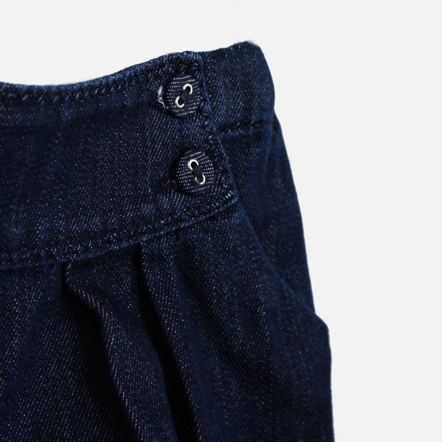Knot Bloomer Shorts Jeans