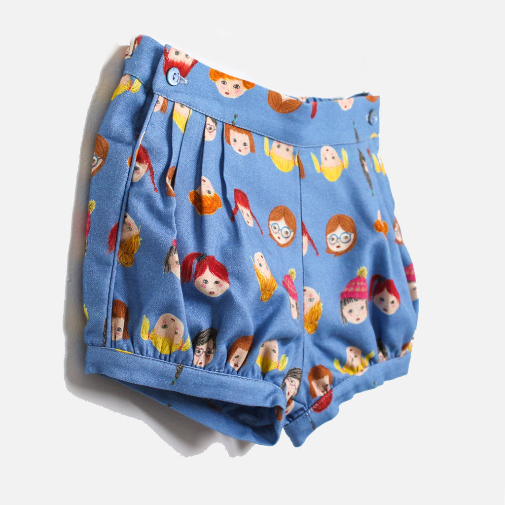 Knot Bloomers Shorts Girls