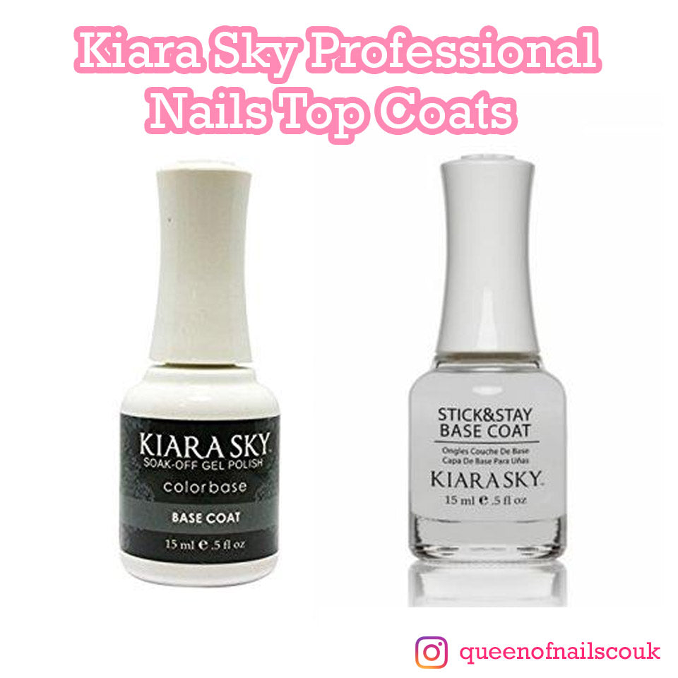 Kiara Sky Professional Nails Top Coats