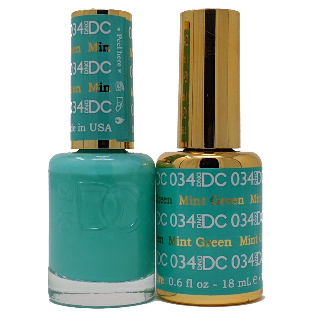 Mint Green-DND-UK-Wholesaler-Supplier-queenofnailscouk