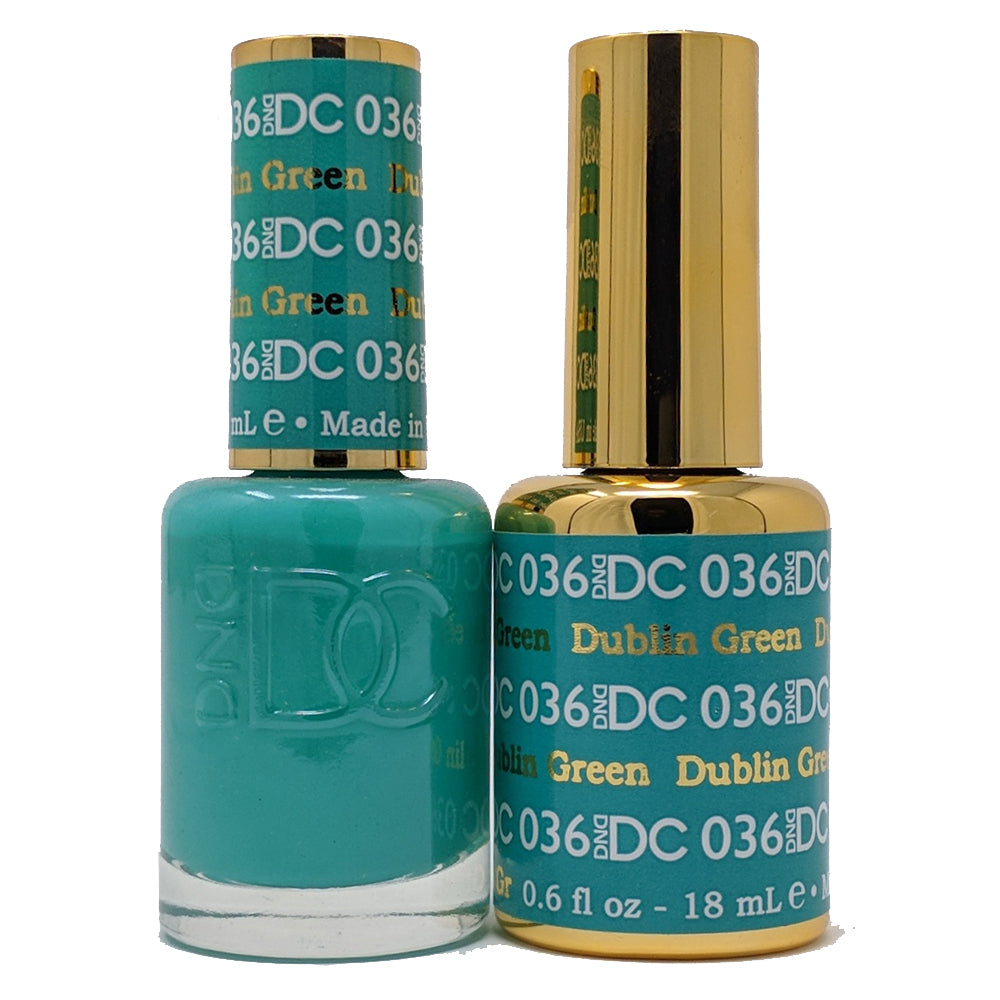 Dublin Green-DND Daisy Collection-UK-Wholesaler-Supplier-queenofnailscouk