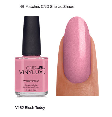 Blush Teddy-CND Vinylux-UK-Wholesaler-Supplier-queenofnailscouk