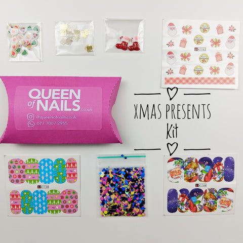 Christmas Present-Nail Art Kits-UK-Wholesaler-Supplier-queenofnailscouk