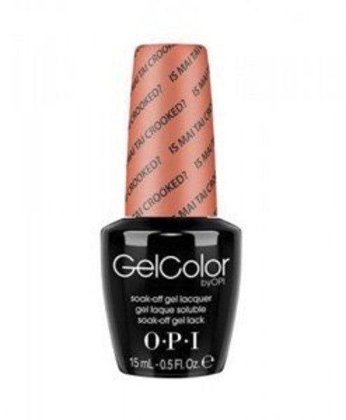 Is Mai Tai Crooked?-OPI GelColor-UK-Wholesaler-Supplier-queenofnailscouk