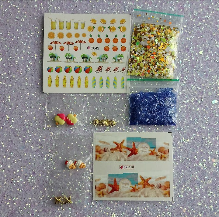 Summer-Nail Art Kits-UK-Wholesaler-Supplier-queenofnailscouk