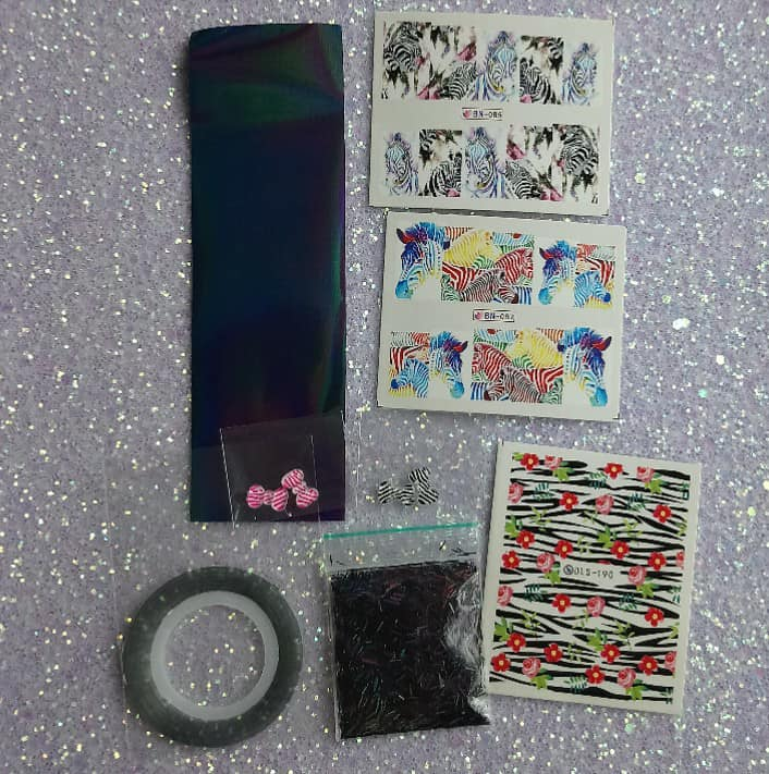 Zebra-Nail Art Kits-UK-Wholesaler-Supplier-queenofnailscouk