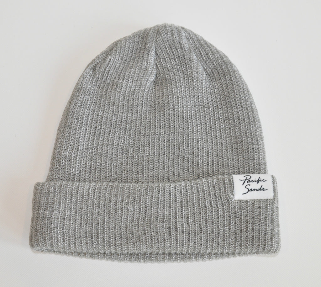 Pacific Sands Grey Beanie / Toque