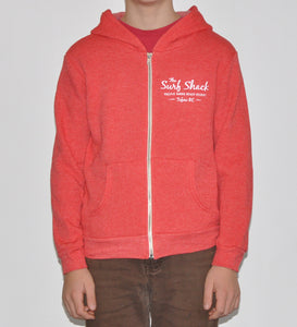 Kids Surf Shack Sweatshirt - Red