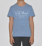 Kids Surf Shack T-shirt - Blue