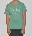 Kids Surf Shack T-shirt - Green