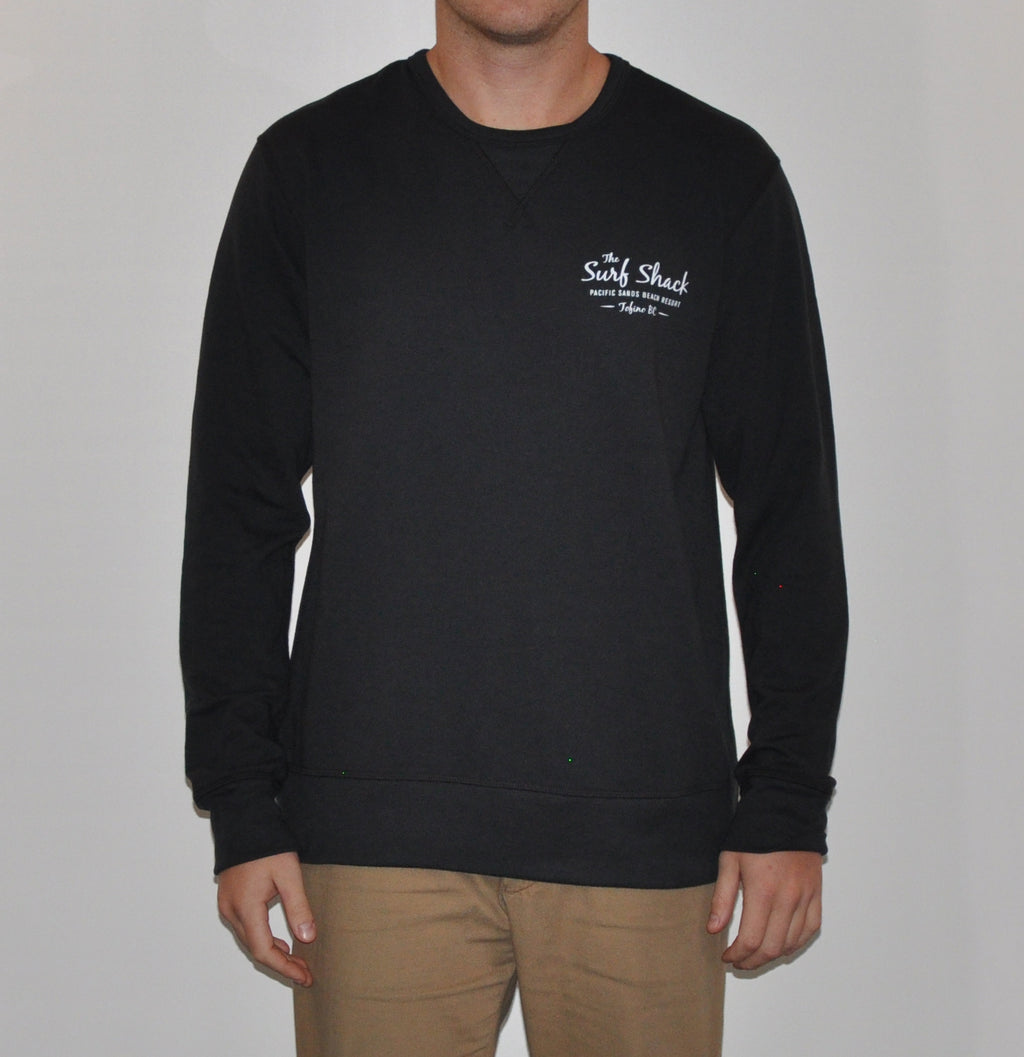 Surf Shack Sweater - Mens - Black