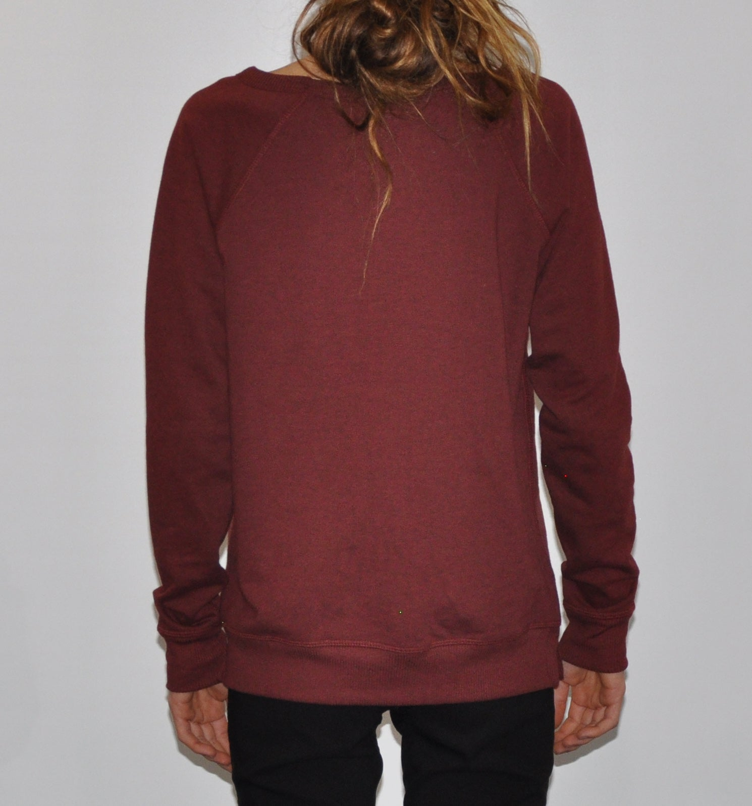 Surf Shack Sweater - Womens - Maroon