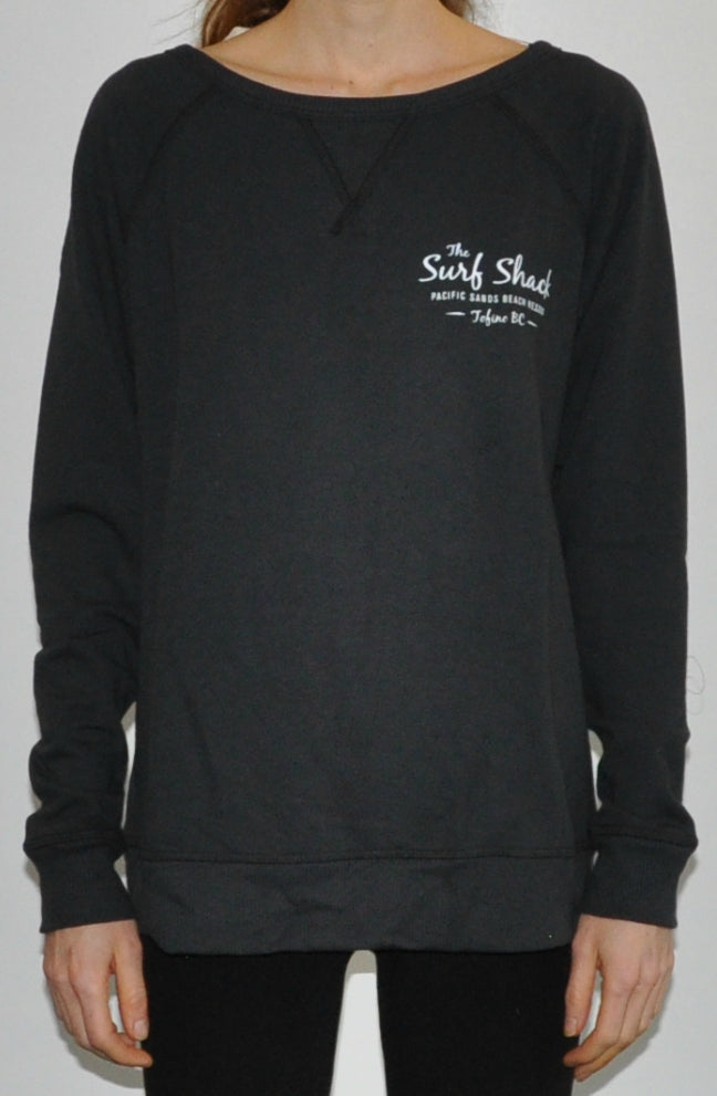 Surf Shack Sweater - Womens - Black