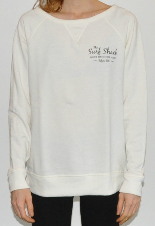 Surf Shack Sweater - Womens - Ivory