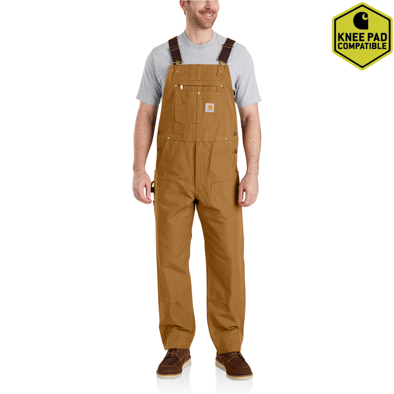 102776 - Carhartt Duck Bib Overalls (Stocked In Canada)