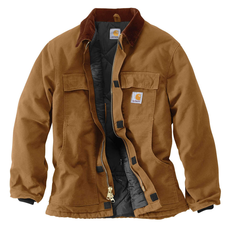 C003 - Carhartt Duck Traditional Coat (Stocked In Canada)