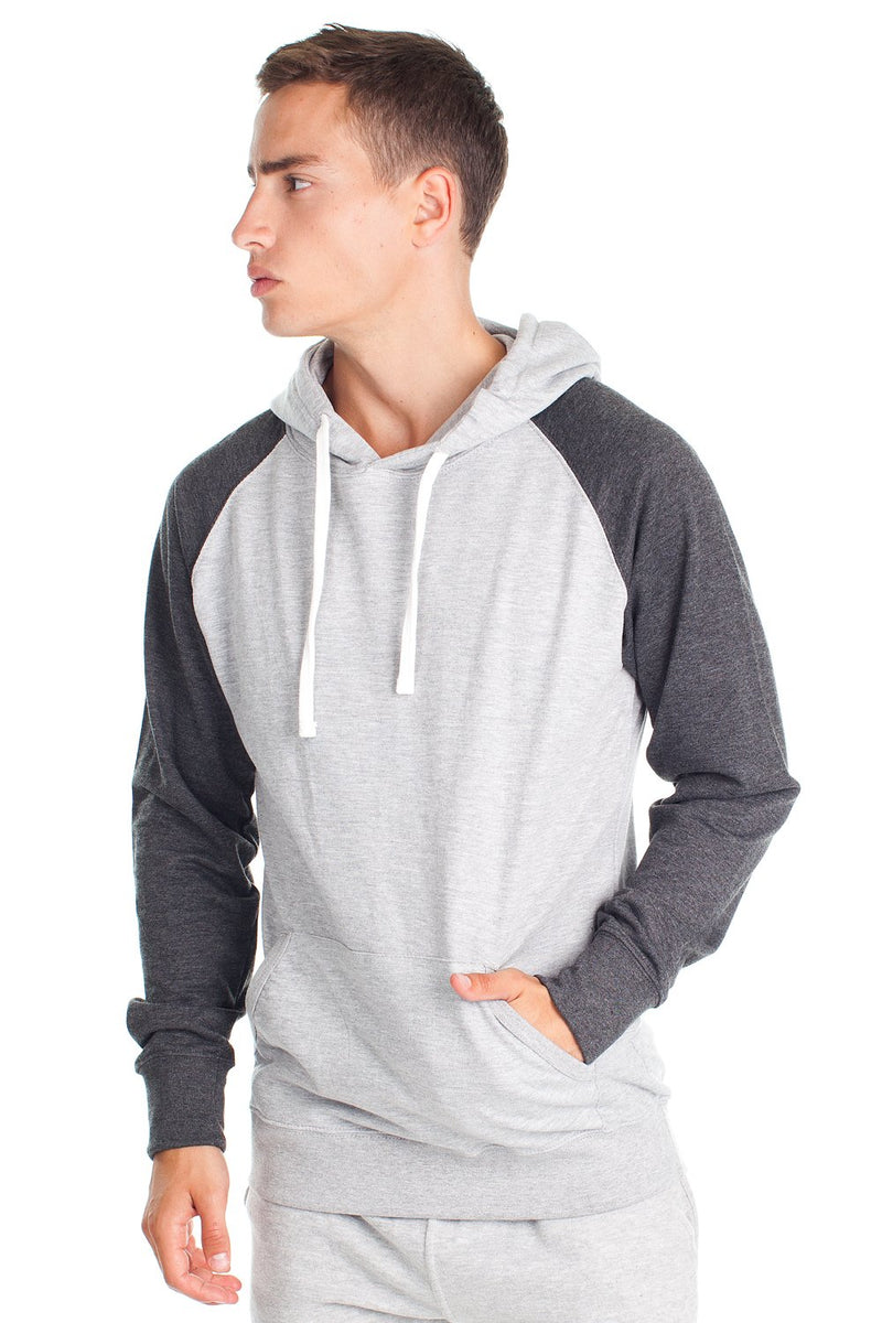 MRT888 - Fleece Factory French Terry Contrast Hood