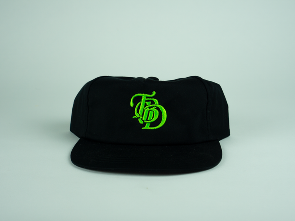 Logo Hat (BLACK/GREEN)