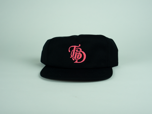 Logo Hat (BLACK/PINK)