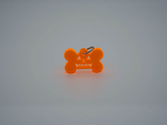 Pumpkin Dog Tag