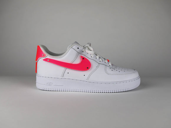 Frosted Thermoformed Acrylic AF1 (Men Sizing) (White)