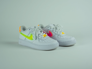 Multi Color Thermoformed Acrylic AF1 (Womens Sizing)