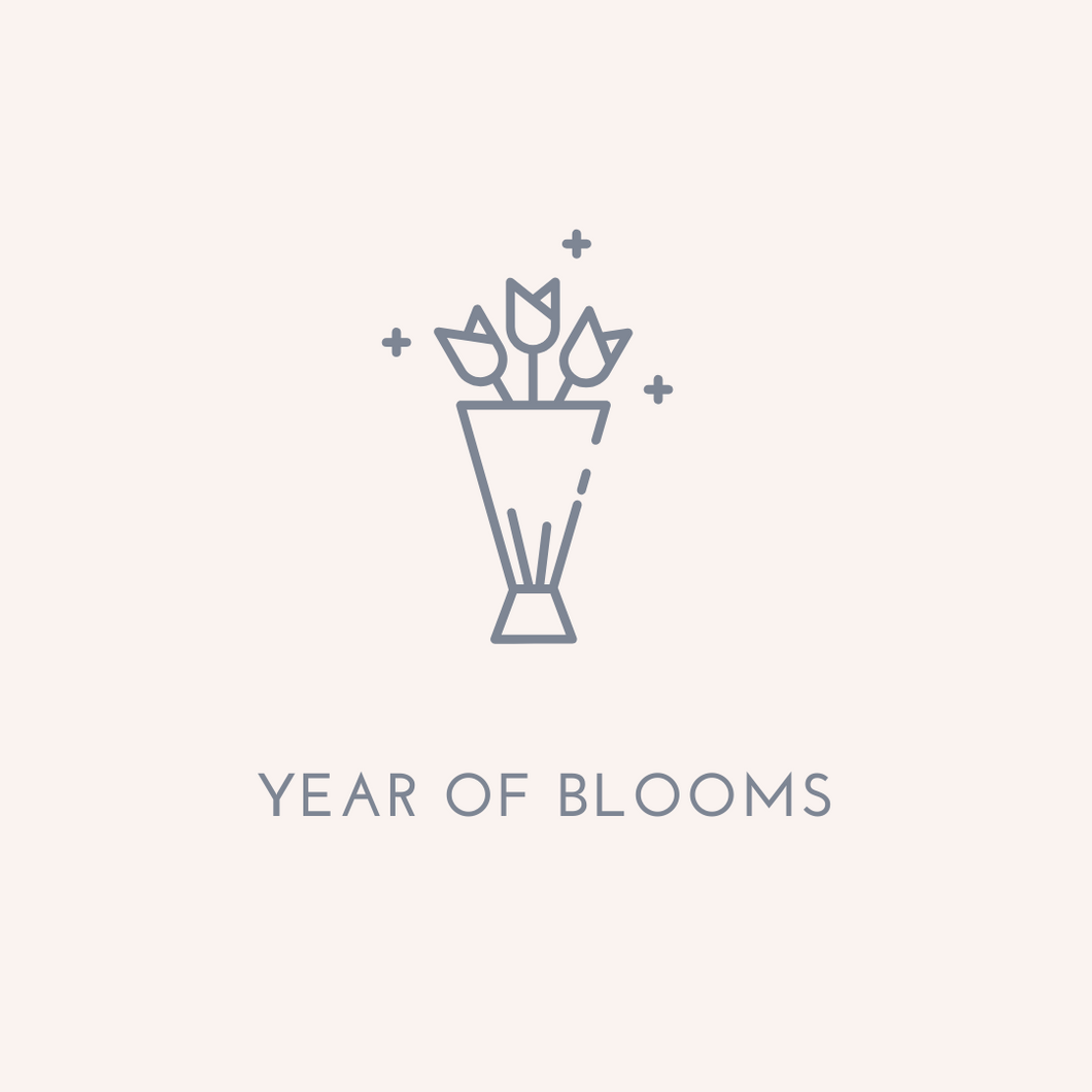 #YEAROFBLOOMS