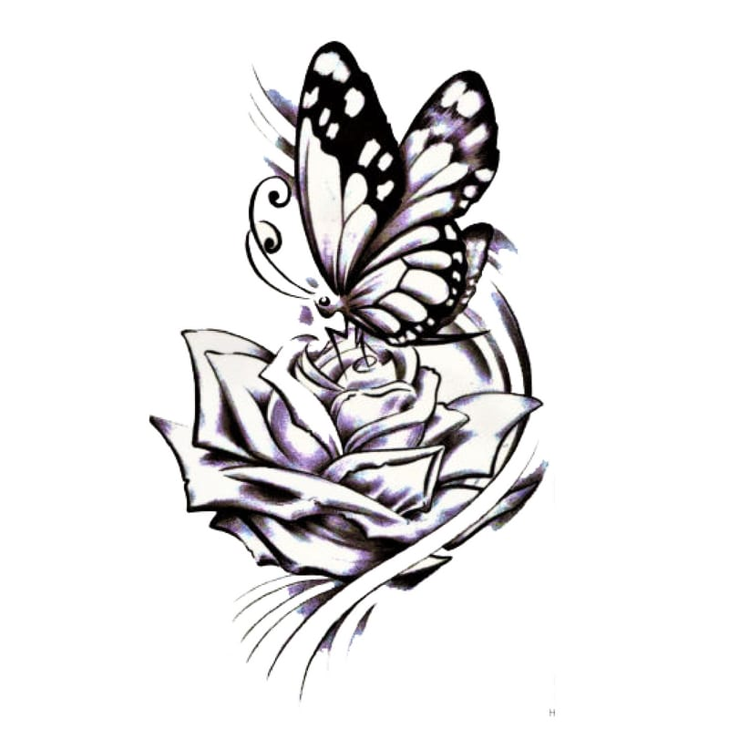 Butterfly Effect Temporäre Tattoos Temporary Tattoos Klebetattoos Faketattoos Tattlook