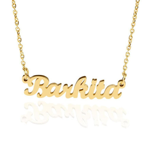 Custom Name Necklace - Rosetta Sterling