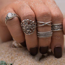 Jemima Ring Set - Rosetta Sterling