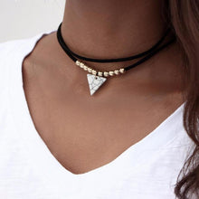Violetta Double Layer Choker - Rosetta Sterling