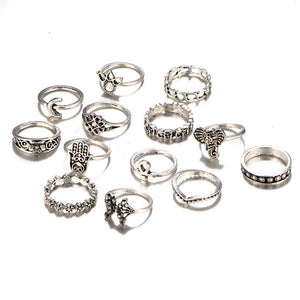 Egypt Ring Set - Rosetta Sterling
