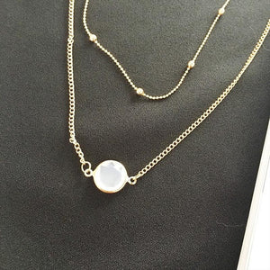Coty Gem Necklace - Rosetta Sterling
